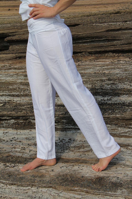 Pantalon yoga Crossbelt 100% viscose tissé 2 tailles 29€