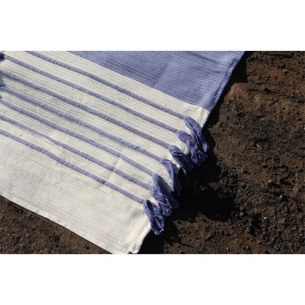 Photo tapis yoga - Fibre Coton 100% Bio - Kundal Yoga